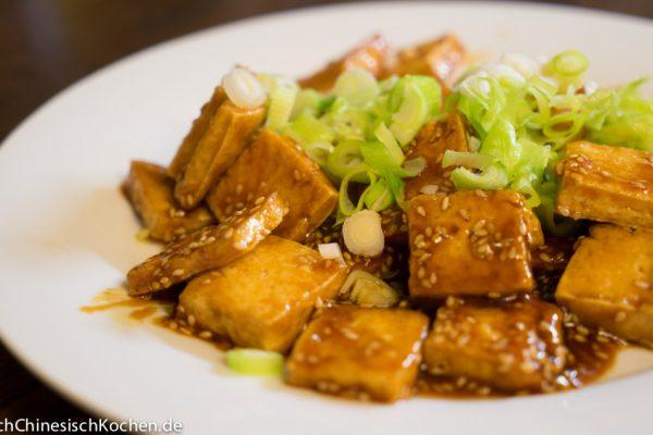糖醋脆皮豆腐-süß-sauer-knuspriger Tofu nach chinesischer Art-1